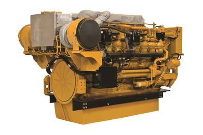 Image courtesy of Caterpillar Marine
