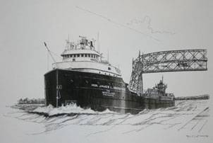 Image courtesy The Interlake Steamship Company