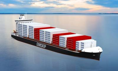 Arctic Line : New containerships for eimskip arctic line