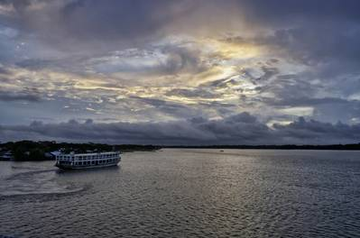Image for illustration only - A Ferry  in Bangladesh - Credit: Ashek/AdobeStock