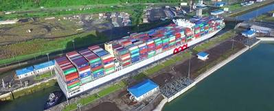 Image from  Panama Canal Authority Video