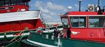 Museum Adds Tug OHIO To Exhibit