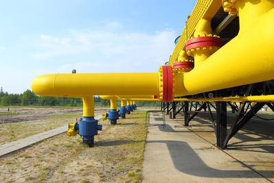 File Image: A typical natural gas pipeline header / (CREDIT: AdobeStock / (c) Pisotckii)