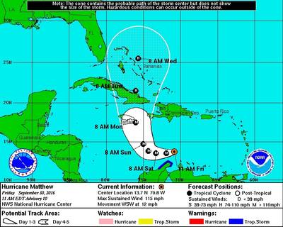 Image: U.S. National Hurricane Center