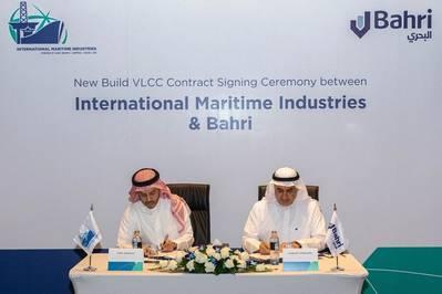 IMI & Bahri L-R: Mr. Fathi K. Al-Saleem, Chief Executive Officer, IMI Eng. Abdullah Aldubaikhi, Chief Executive Officer, Bahri. Photo: IMI