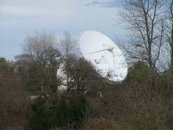 IMMARSAT Dish: Photo credit Wiki CCL