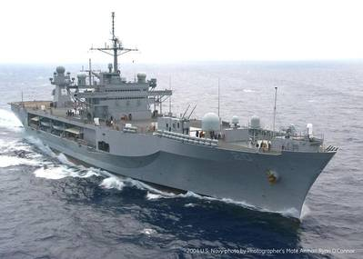In efforts to extend ship life, increase capability and assure critical operations, the U.S. Navy is refitting its USS Mount Whitney Blue Ridge class command ship. GE has signed a contract worth US$14 million if all options are exercised with Military Sealift Command for the project.