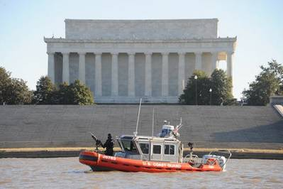 Inauguration Patrol: Photo credit USCG