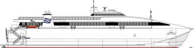 Incat Tasmania and Seaworld Express Ferry announced an order for a new generation fast ferry, a 76-m high speed wave piercing catamaran ferry to accommodate up to 700 passengers and 79 cars when it enters service on the new route between Jindo and Jeju early 2022.