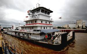Ingram Barge vessel Henry B (Photo courtesy USACE)