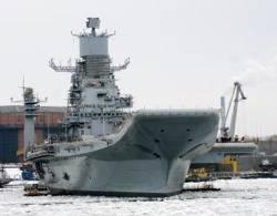 INS Vikramaditya: Photo credit Russian Navy