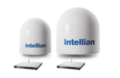 Intellian v60Ka and v100Ka combined set