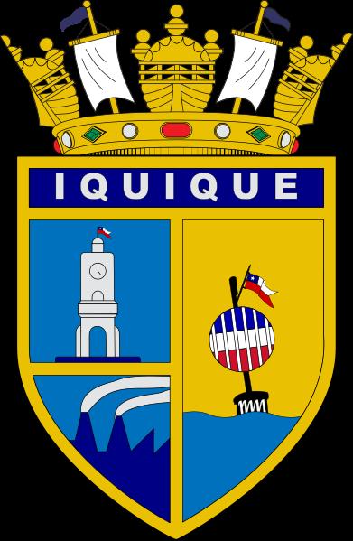 Iquique Port Crest: Image CCL