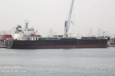 Iranian tanker Fortune file photo (© Rutger Hofma / MarineTraffic.com)
