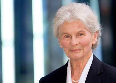 Irmgard Schmid-Maybach: Photo courtesy of Tognum