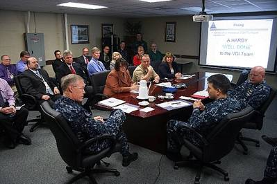 Virtual Desktop Presentation: Photo credit USN