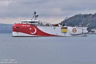 Oruc Reis - Credit: Cengiz Tokgoz/MarineTraffic.com