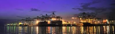 Photo:  Jakarta International Container Terminal