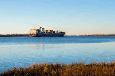 Charleston Harbor Deepening Construction Begins