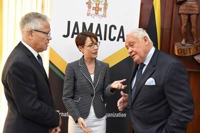 Jamaica candidancy launch Photo Maritime Authority of Jamaica
