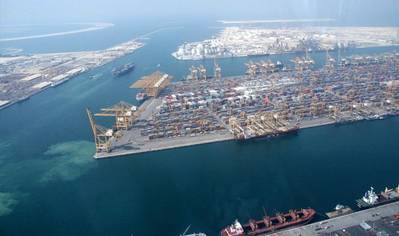 Jebel Ali Port: Photo credit Wiki CCL