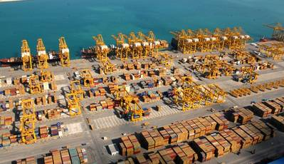 Jebel Ali Port: Photo credit DP World