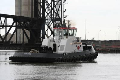 "Jensen Maritime designed Tug ""Handy-Three"""