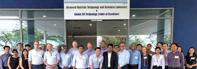 JIP participants during the kick-off meeting and workshop at the DNV GL AM Technology Centre of Excellence. Photo: DNV GL