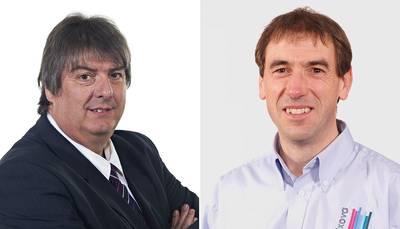 John Carter (left) and Phil Dent