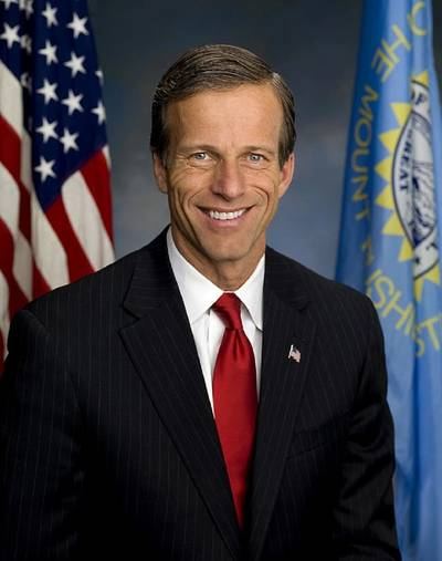 John Thune (R-SD), the Chairman of the Senate Committee on Commerce, Science and Transportation  (Official Senate portrait)