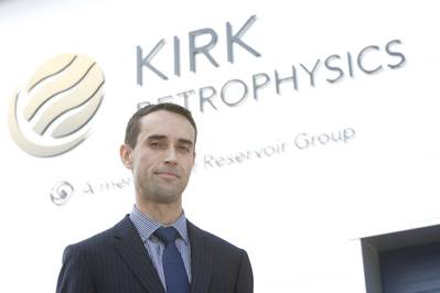 John-Valery Garcia, managing director of Kirk Petrophysics.