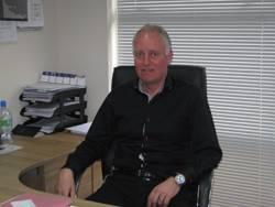 Jørn Berg, Vice President of Sales for Norway