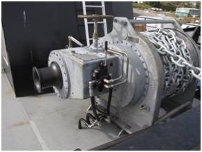 JK Fabrication's DNV Type-Approved 40-30-3000 Anchor Winch