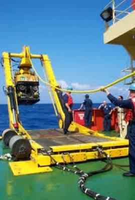 Kellie Chouest at Work: Photo credit Navy Mil.