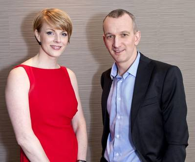 Kelly Murray and Andrew Louden (Photo courtesy ICoTA)
