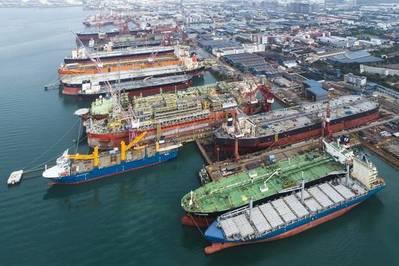 Keppel Tuas Shipyard - File Photo: Keppel Corp.
