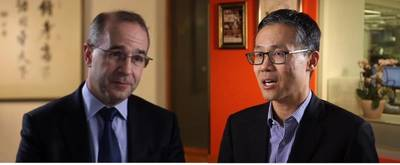 Kevin Sneader and Joe Ngai discuss. Photo: McKinsey Insights