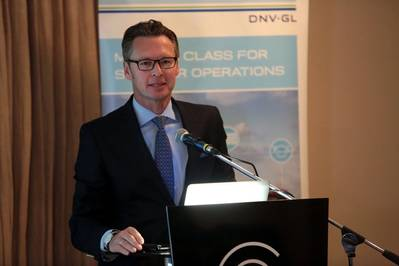 Knut Ørbeck-Nilssen, CEO of DNV GL – Maritime (Photo: DNV GL)