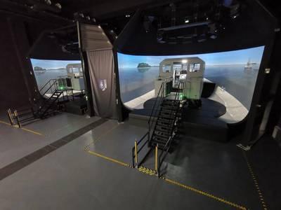 Kongsberg Digital's K-Sim Fast Craft simulators, for delivery to the Singapore Police Coast Guard Training Center (Photo: Kongsberg Digital)
