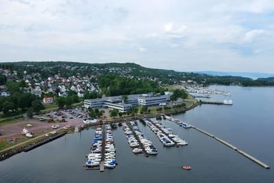 Kongsberg Maritime Building Carpus 3, Kongsberg, Norway. Photo: Kongsberg Maritime
