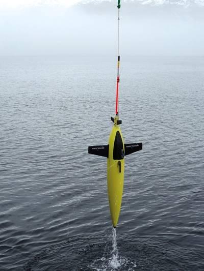 Kongsberg Seaglider AUV