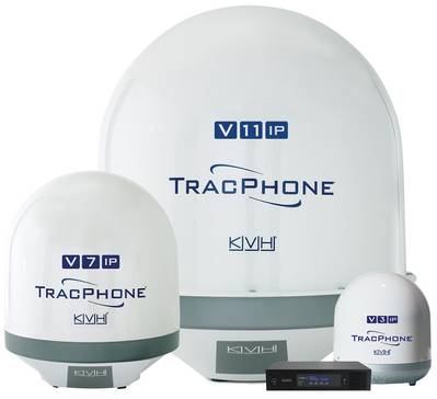 KVH's TracPhone V-IP series (Photo: KVH)