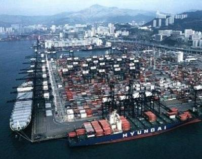 Kwai Chung Terminal: Photo courtesy of Anderson Asphalt