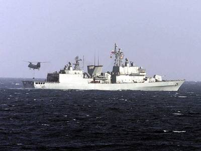 Kwanggaeto-class warship: Photo credit USN