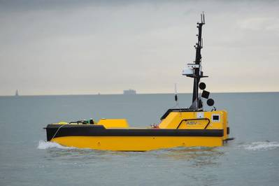 L3 ASV's C-Worker 7 is a multi-role work class autonomous vessel suitable for a variety of offshore and coastal tasks. Photo: Business Wire