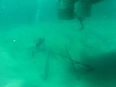 Lantana exploration site: Photo courtesy of Seafarer Exploration