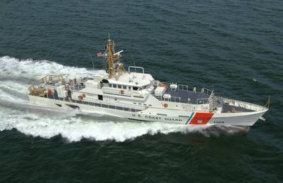 Lawrence Lawson sister ship Margaret Norvell was delivered to the U.S. Coast Guard in 2013 (Photo: Bollinger Shipyards)