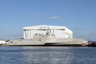 LCS 4 'Coronado': Photo credit Austal
