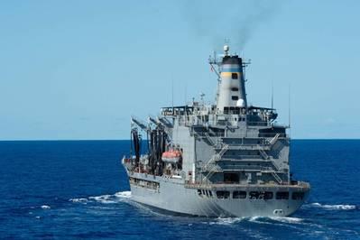 Fleet replenishment oiler USNS Guadalupe (T-AO 200) (U.S. Navy photo by Jeffery L. Southerland)