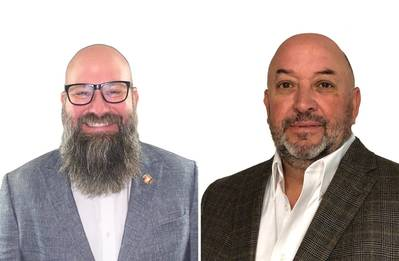 Left to right: Cole Merritt, Sales Manager, OEM Sales, Americas & Peter Gonzalez, Aftermarket Sales and Training Manager, Americas (Photo: MJP)